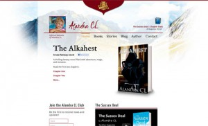 Alandra CL Website Homepage