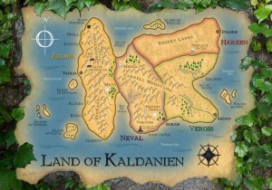 Map of Kaldanien